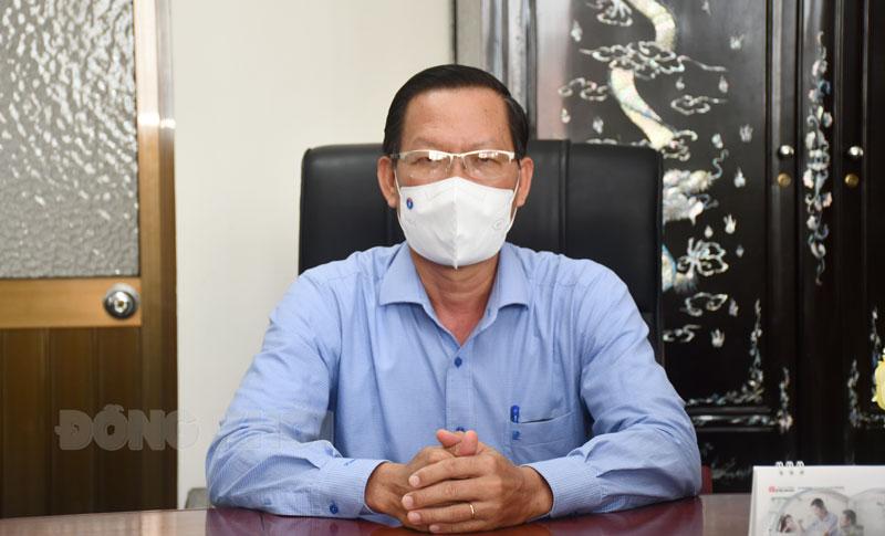 Bí thư Tỉnh ủy - Chủ tịch UBBC tỉnh Phan Văn Mãi
