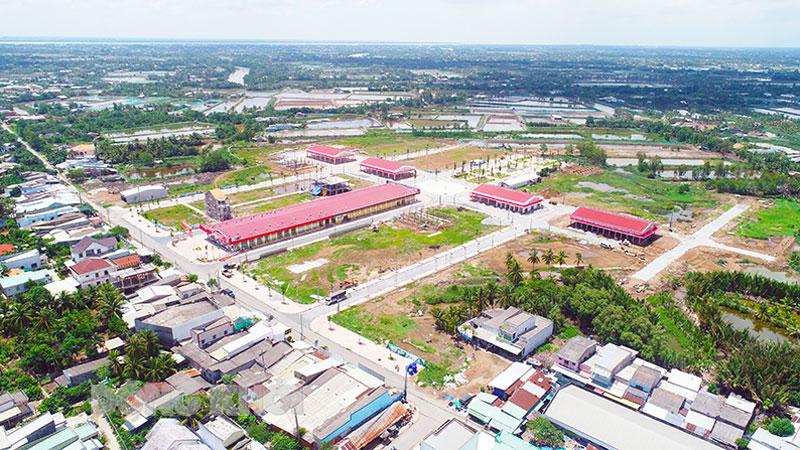 Thạnh Phú đột phá thay đổi diện mạo đô thị hiện đại. Ảnh: DA