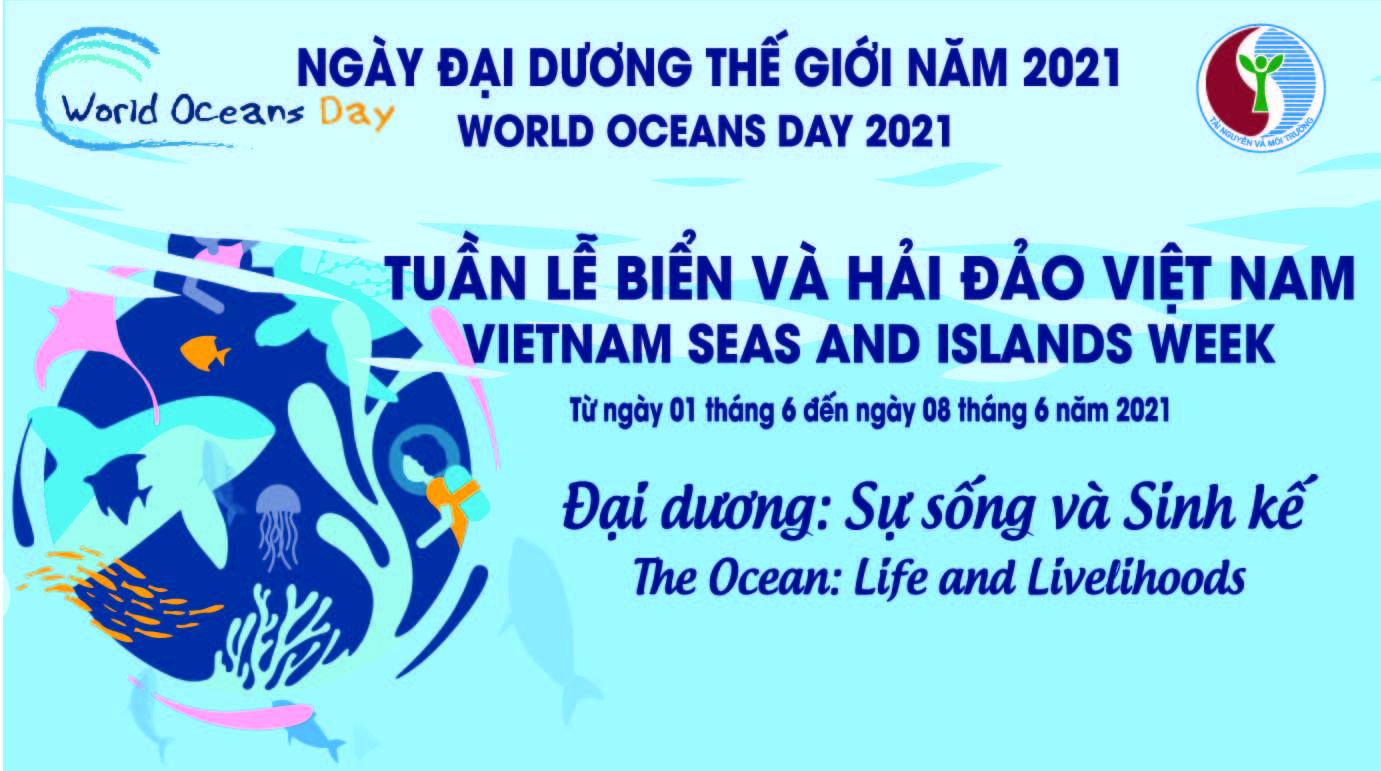 Hưởng ứng tuần lễ Biển, Hải đảo Việt Nam và Ngày Đại dương thế giới năm 2021. Ảnh: Internet.