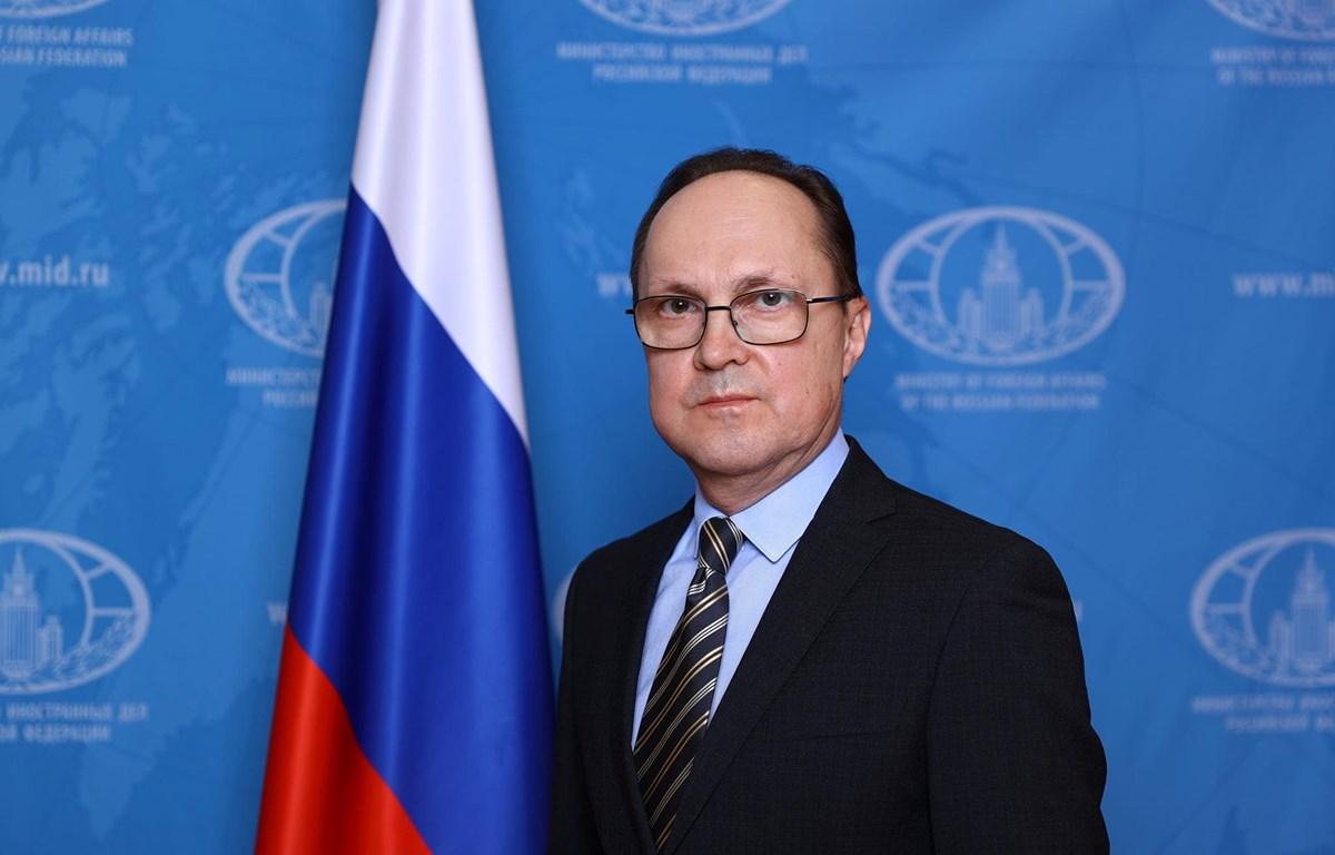 Đại sứ Liên bang Nga tại Việt Nam Gennady Bezdetko. (Nguồn: Đại sứ quán Nga tại Việt Nam)