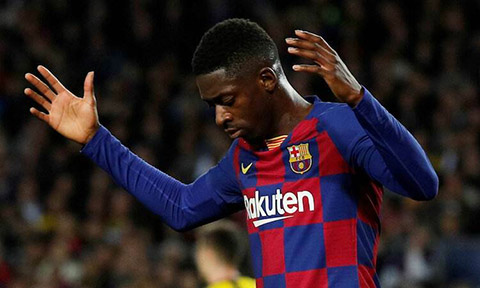 Barca thúc giục Dembele gia hạn hợp đồng