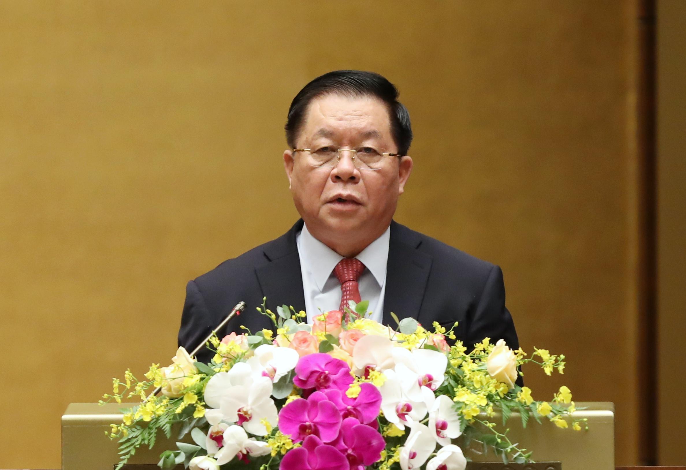 Trưởng Ban Tuyên giáo Trung ương Nguyễn Trọng Nghĩa phát biểu khai mạc Hội nghị. Ảnh: VGP/Nhật Bắc