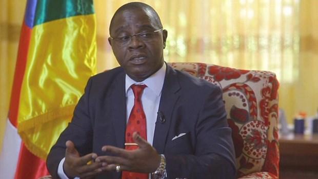 Tân Thủ tướng Cộng hòa Trung Phi Henri Marie Dondra. Nguồn: cemac-eco.finance