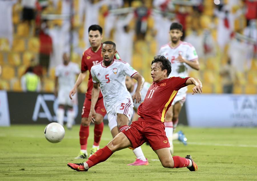 FIFA ghi nhận nỗ lực tuyệt vời của ĐT Việt Nam tại vòng loại World Cup 2022. Ảnh: P.H