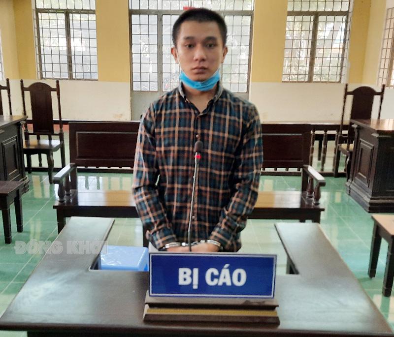 Bị cáo Toản tại phiên tòa ngày 2-7-2021.