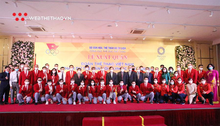 Đoàn Việt Nam lên đường với hai mục tiêu quan trọng ở Olympic 2021.