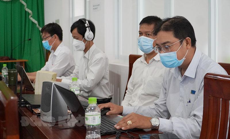 Ngành giáo dục và đào tạo đẩy mạnh dịch vụ công trực tuyến mức độ 3, 4. Ảnh: Phan Hân