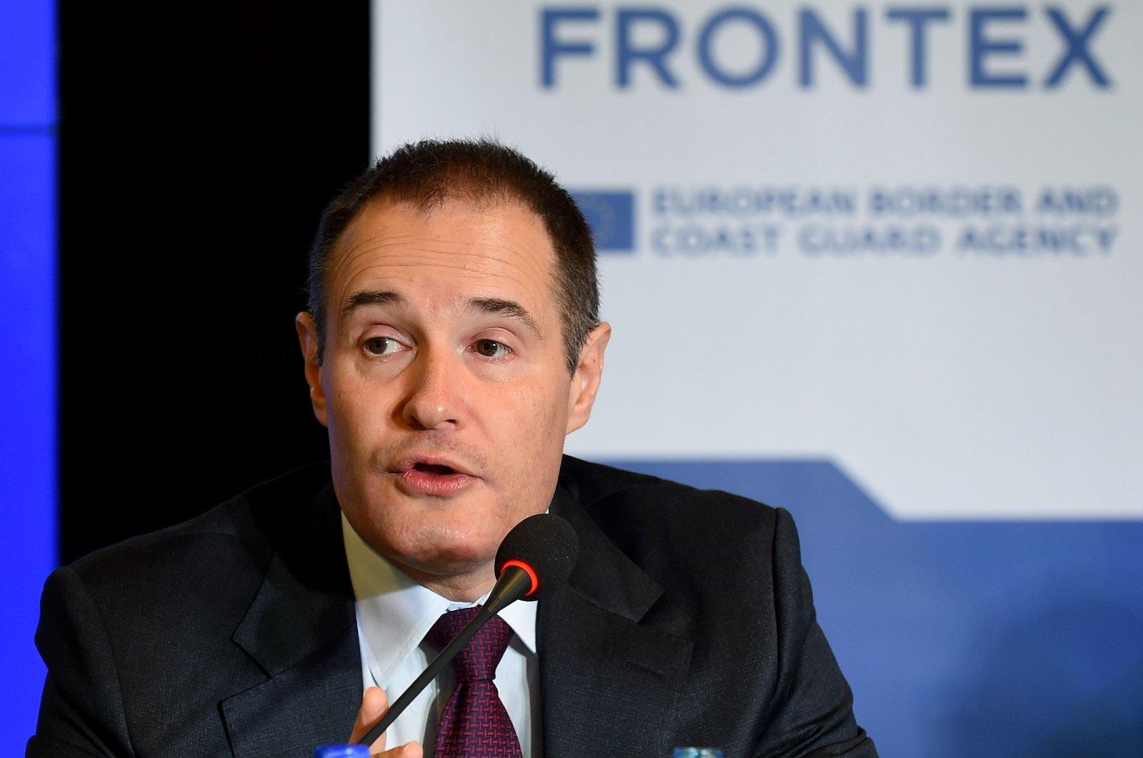 Giám đốc điều hành Cơ quan bảo vệ biên giới Liên minh châu Âu (Frontex), ông Fabrice Leggeri. Ảnh: AFP