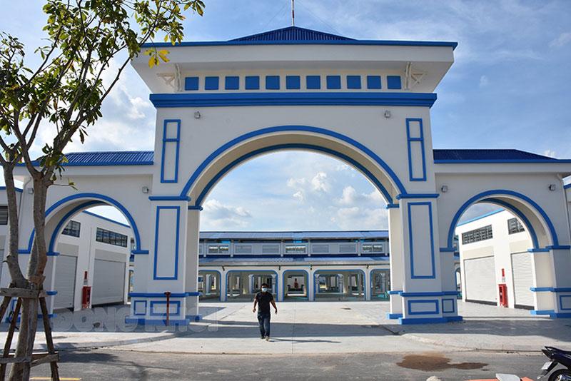Dự án chỉnh trang khu dân cư đô thị Phú Khương, TP. Bến Tre đã cơ bản hoàn thành.
