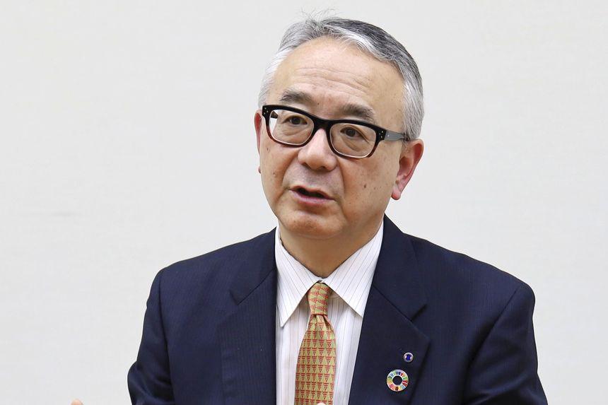 Ông Isao Teshirogi. Ảnh: Kyodo