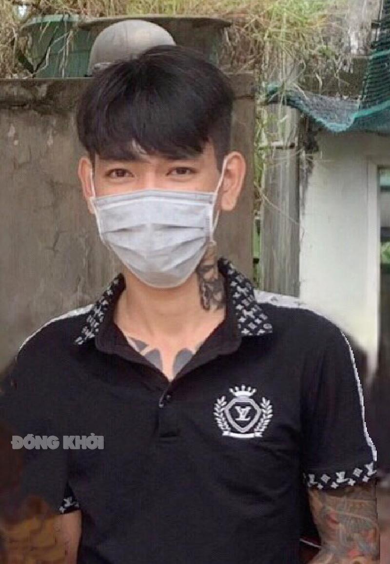 Đối tượng Nguyễn Tấn Lợi. Ảnh: Đăng Vinh.