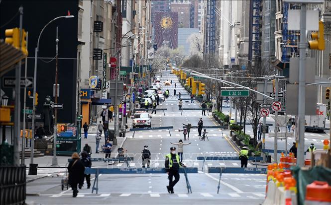 Quang cảnh Đại lộ Park ở New York, Mỹ. Ảnh minh họa: TTXVN phát