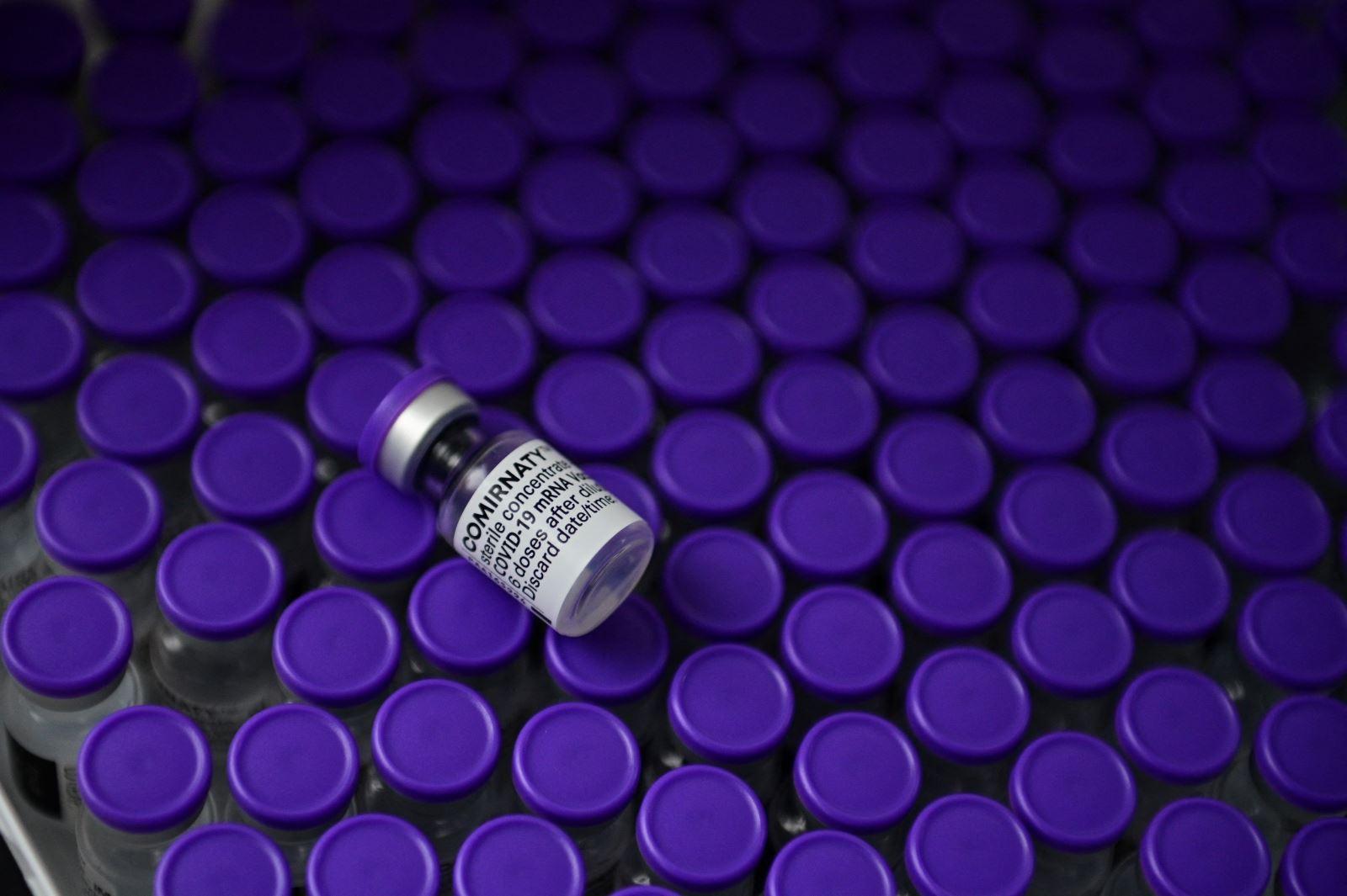 Vaccine ngừa COVID-19 của hãng dược phẩm Pfizer/BioNTech. Ảnh: AFP/TTXVN