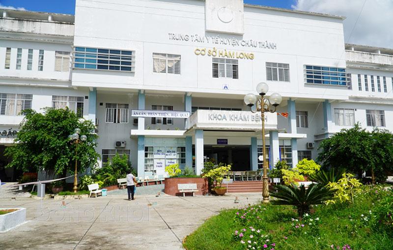 Bệnh viện dã chiến số 4 (Cơ sở Hàm Long, Trung tâm Y tế huyện Châu Thành) đã kích hoạt thu dung điều trị bệnh Covid-19.