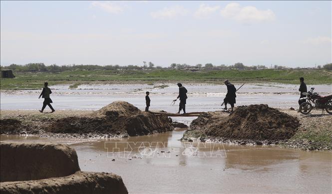 Cảnh tàn phá sau trận lũ quét tại Jawzjan, Afghanistan. Ảnh tư liệu: THX/TTXVN