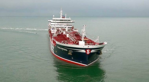 Một tàu chở dầu. (Nguồn: indianexpress.com)