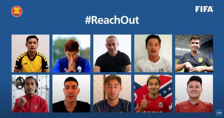 Quang Hải cùng các ngôi sao Đông Nam Á góp mặt trong chiến dịch đặc biệt của FIFA
