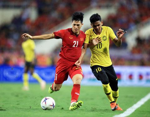 Đình Trọng nhiều khả năng sẽ trở lại đội hình chính của ĐT Việt Nam sau 3 năm - Ảnh: Đức Cường