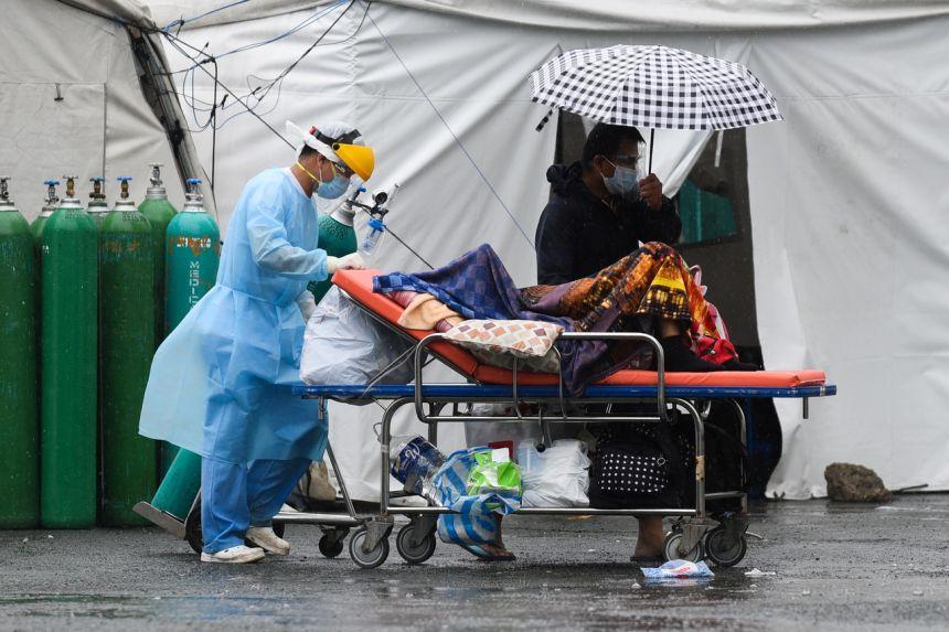 Philippines đã ghi nhận kỷ lục ca nhiễm mới trong ngày 11-9, với 26.303 ca. Ảnh: Reuters