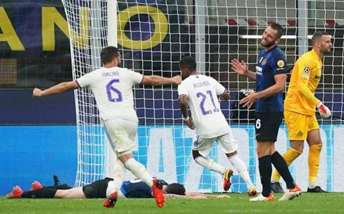 Rodrygo ghi bàn duy nhất giúp Real hạ Inter