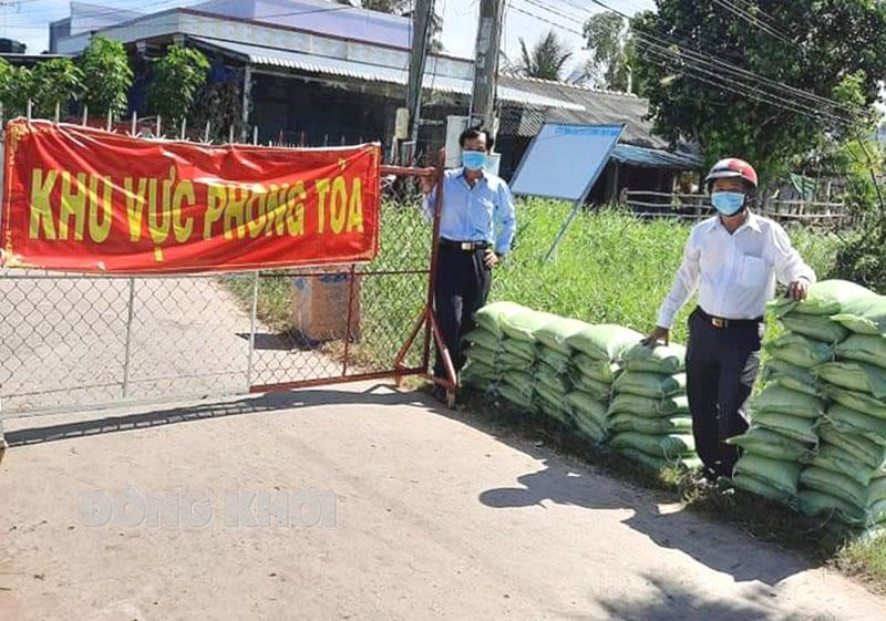 Hội Cựu chiến binh xã An Thuận vận động hơn 4 tấn gạo phục vụ công tác phòng chống dịch Covid-19 tại địa phương.