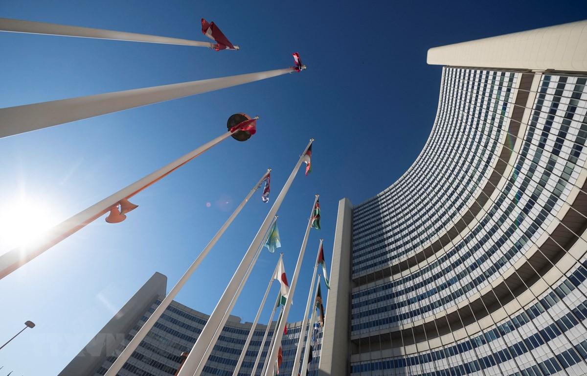 Trụ sở Cơ quan Năng lượng nguyên tử quốc tế (IAEA) tại Vienna, Áo. (Ảnh: AFP/TTXVN)