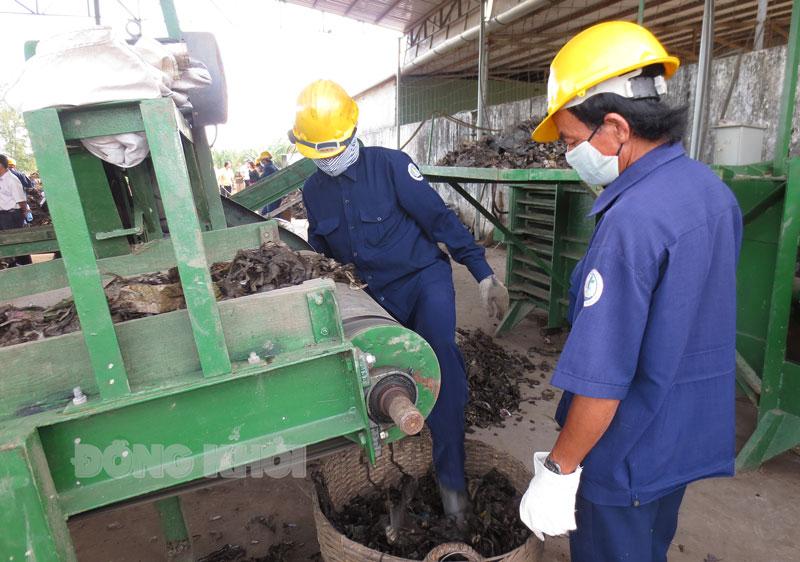 Nghiên cứu quy trình xử lý rác thải tại Bến Tre.