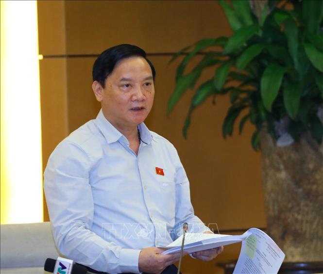 Phó Chủ tịch Quốc hội Nguyễn Khắc Định. Ảnh: Nguyễn Điệp/TTXVN