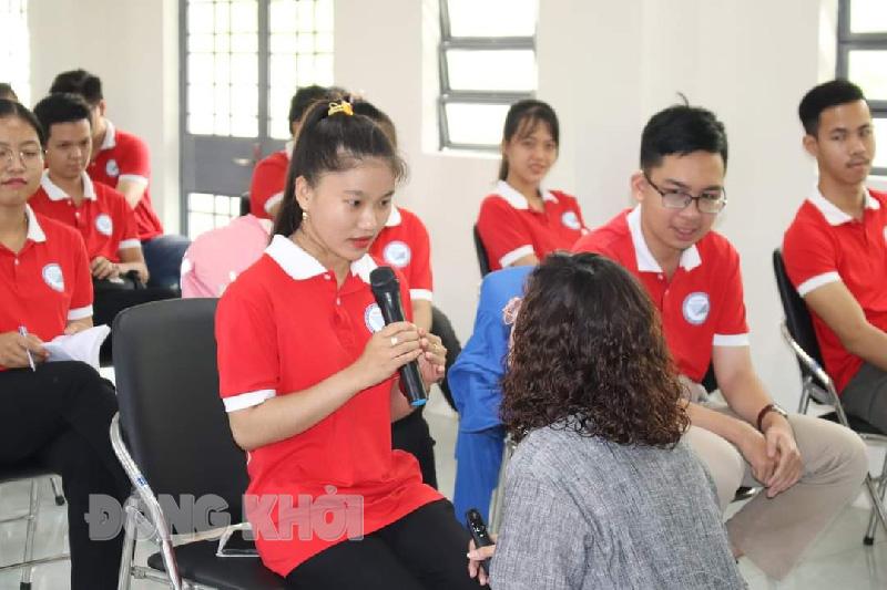 Sinh viên Phân hiệu ĐHQG -HCM tại tỉnh Bến Tre.