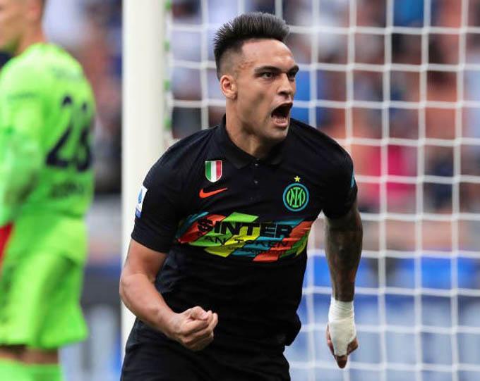 Lautaro Martinez ghi bàn, góp công vào chiến thắng 6-1 của Inter trước Bologna