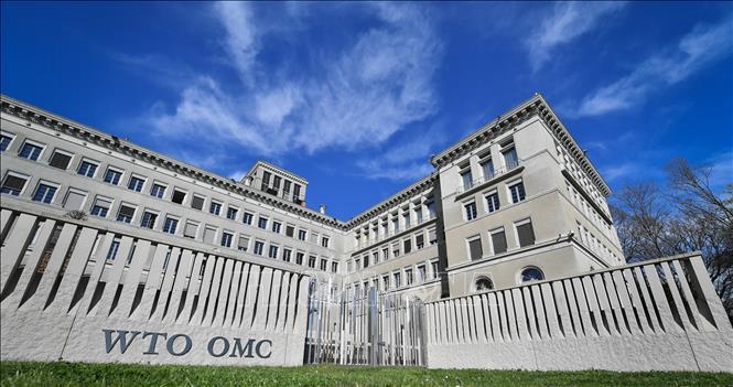Trụ sở WTO tại Geneva, Thụy Sĩ. Ảnh: AFP/TTXVN