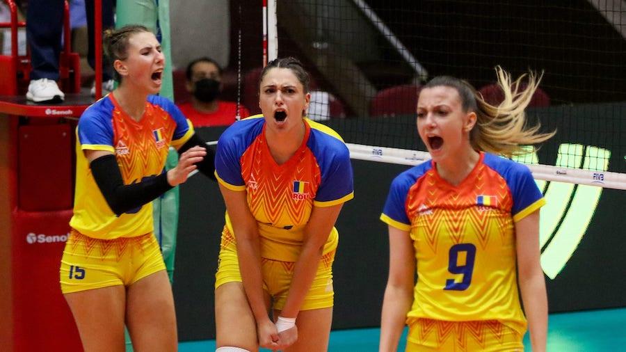 Các cô gái Romania cũng giành chiến thắng nghẹt thở sau 5 set