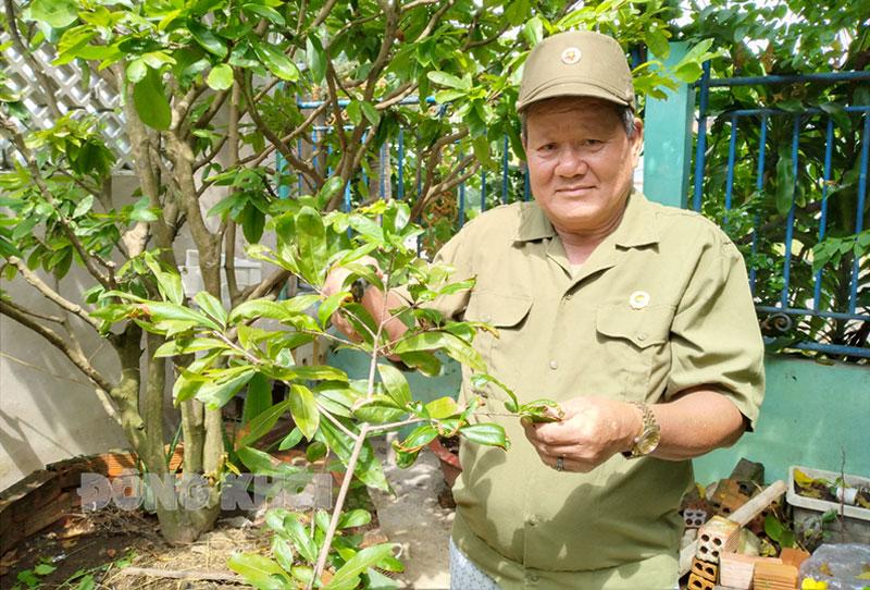 Cựu chiến binh Đào Văn Chánh.