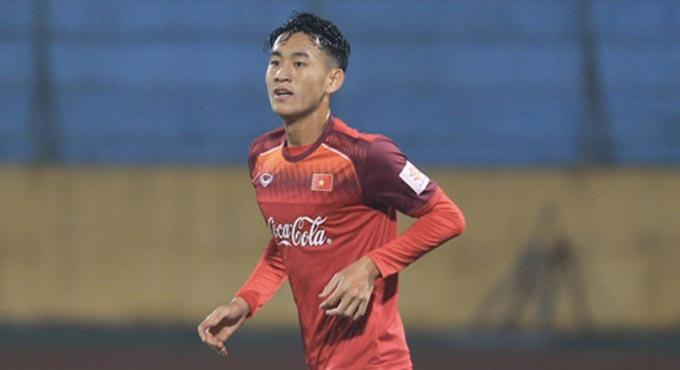 Tiền đạo Xuân Tú ghi bàn thắng duy nhất cho U22 Việt Nam
