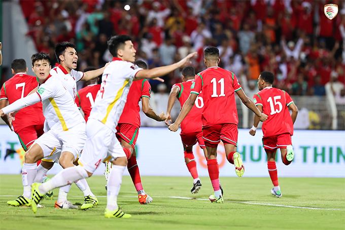 ĐT Việt Nam đã chơi đầy nỗ lực