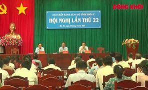 Hội nghị lần thứ 22 Ban Chấp hành Đảng bộ tỉnh khóa X