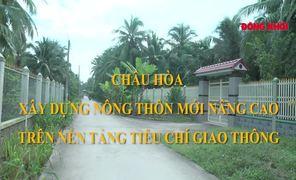 Châu Hòa xây dựng xã nông thôn mới nâng cao