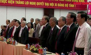 Khai mạc Đại hội đại biểu Đảng bộ tỉnh Bến Tre lần thứ XI, nhiệm kỳ 2020 - 2025