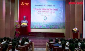 62 học sinh nhận giải thưởng Trương Vĩnh Ký