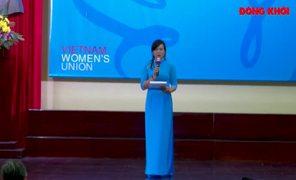 Trao học bổng Nguyễn Thị Định cho học sinh, sinh viên có hoàn cảnh khó khăn