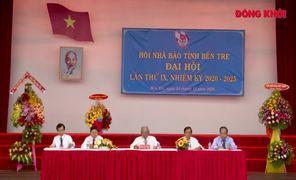 Đại hội Hội Nhà báo tỉnh Bến Tre lần thứ IX, nhiệm kỳ 2020 - 2025