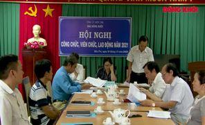 Hội nghị công chức, viên chức, người lao động Báo Đồng Khởi năm 2021