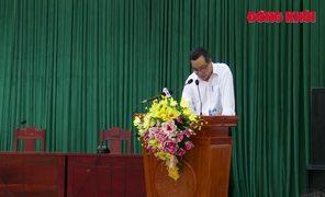 Bí thư Tỉnh ủy Phan Văn Mãi gặp gỡ cán bộ ngành tuyên giáo và báo chí