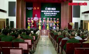"""Tiểu đoàn 560 đón nhận danh hiệu """"Anh hùng Lực lượng vũ trang nhân dân"""""""