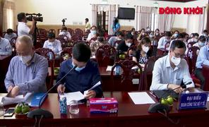 Thứ trưởng Bộ Y tế Trương Quốc Cường kiểm tra công tác phòng chống dịch tại tỉnh