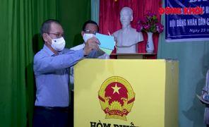 Cuộc bầu cử đại biểu Quốc hội khóa XV và đại biểu HĐND các cấp nhiệm kỳ 2021 - 2026 thành công tốt đẹp