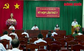 Ủy ban Bầu cử tỉnh họp lần thứ 7