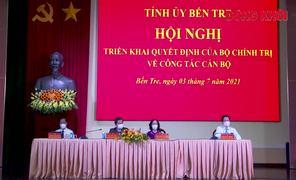 Đồng chí Lê Đức Thọ giữ chức Bí thư Tỉnh ủy Bến Tre