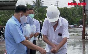 Lãnh đạo tỉnh làm việc với Công ty TNHH Chế biến nông sản Thuận Phong