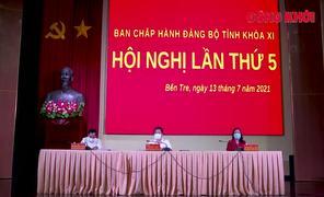 Hội nghị lần thứ 5 Ban Chấp hành Đảng bộ tỉnh khóa XI,  nhiệm kỳ 2020 - 2025